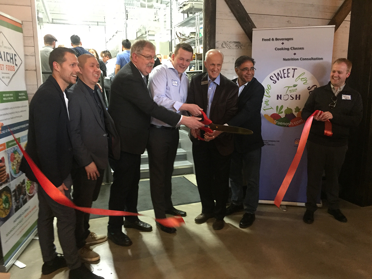 YVR Prep Ribbon Cutting for Commercial Kitchen