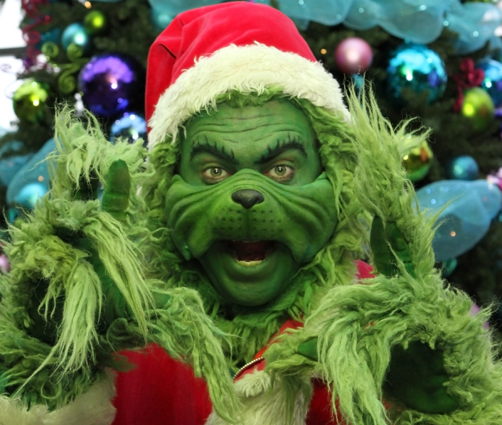 The Grinch, at Lower Lonsdale